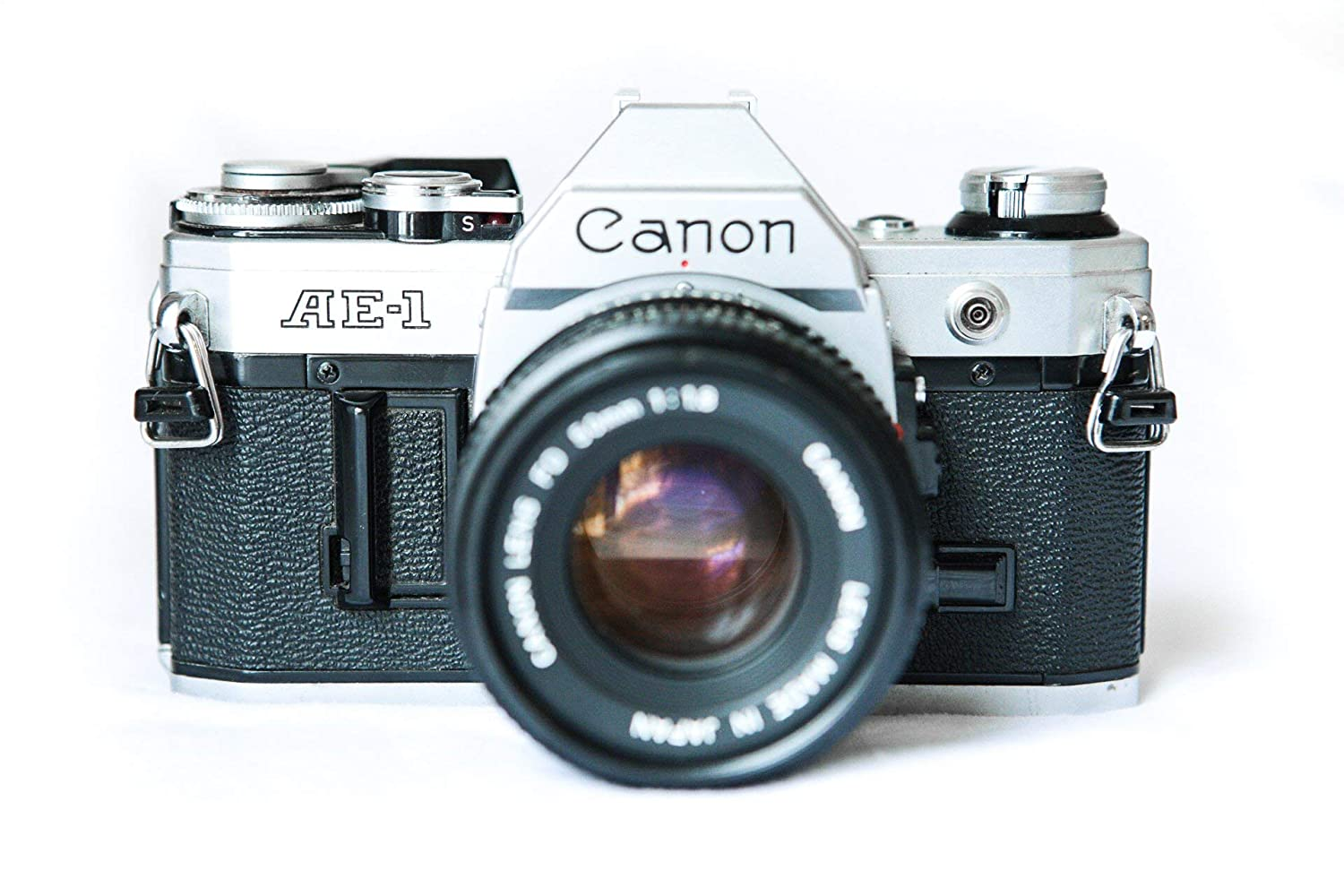 Amazon com canon ae 1 35mm film camera w 50mm 11 8 lens camera photo