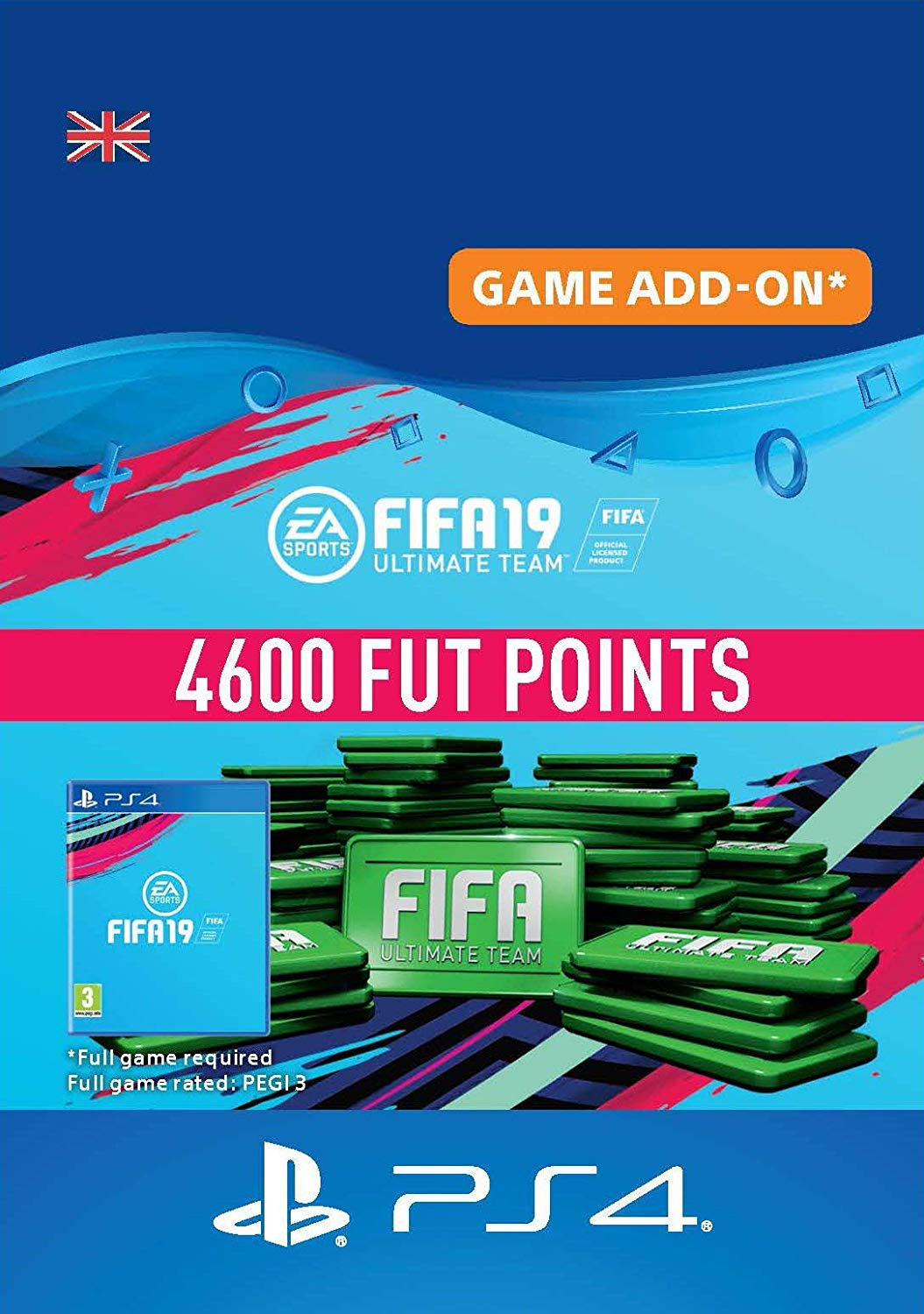 FIFA 19 Ultimate Team - 1600 FIFA Points | PS4 Download Code