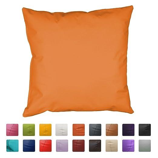 HAPPERS Cojin Polipiel (60x60) (Naranja)