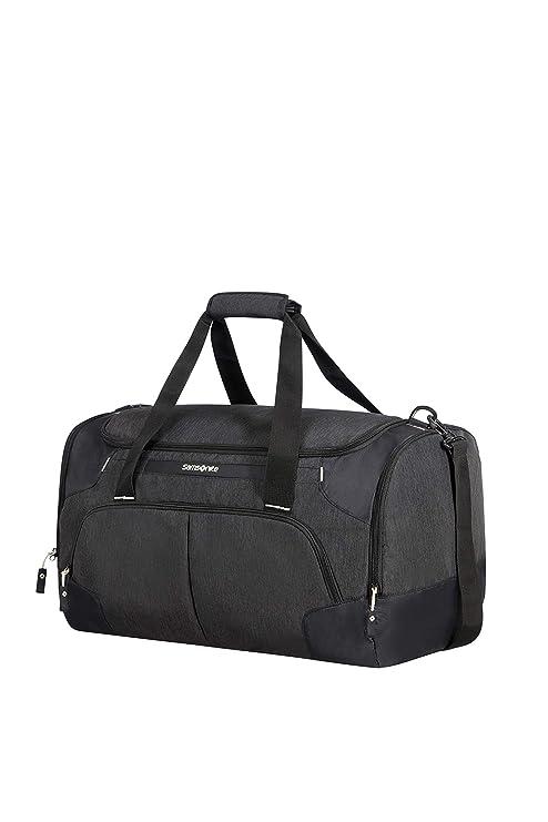 Samsonite Rewind, Bolsa de viaje, 55 cm, Negro (Black)