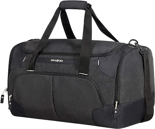 Samsonite Rewind Wheeled Duffle Bag, 55 Centimeter, Black
