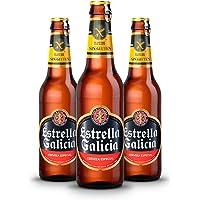 Estrella Galicia Cerveza Sin Gluten - Pack de 24 botellas x 330 ml - Total: 7.92 L
