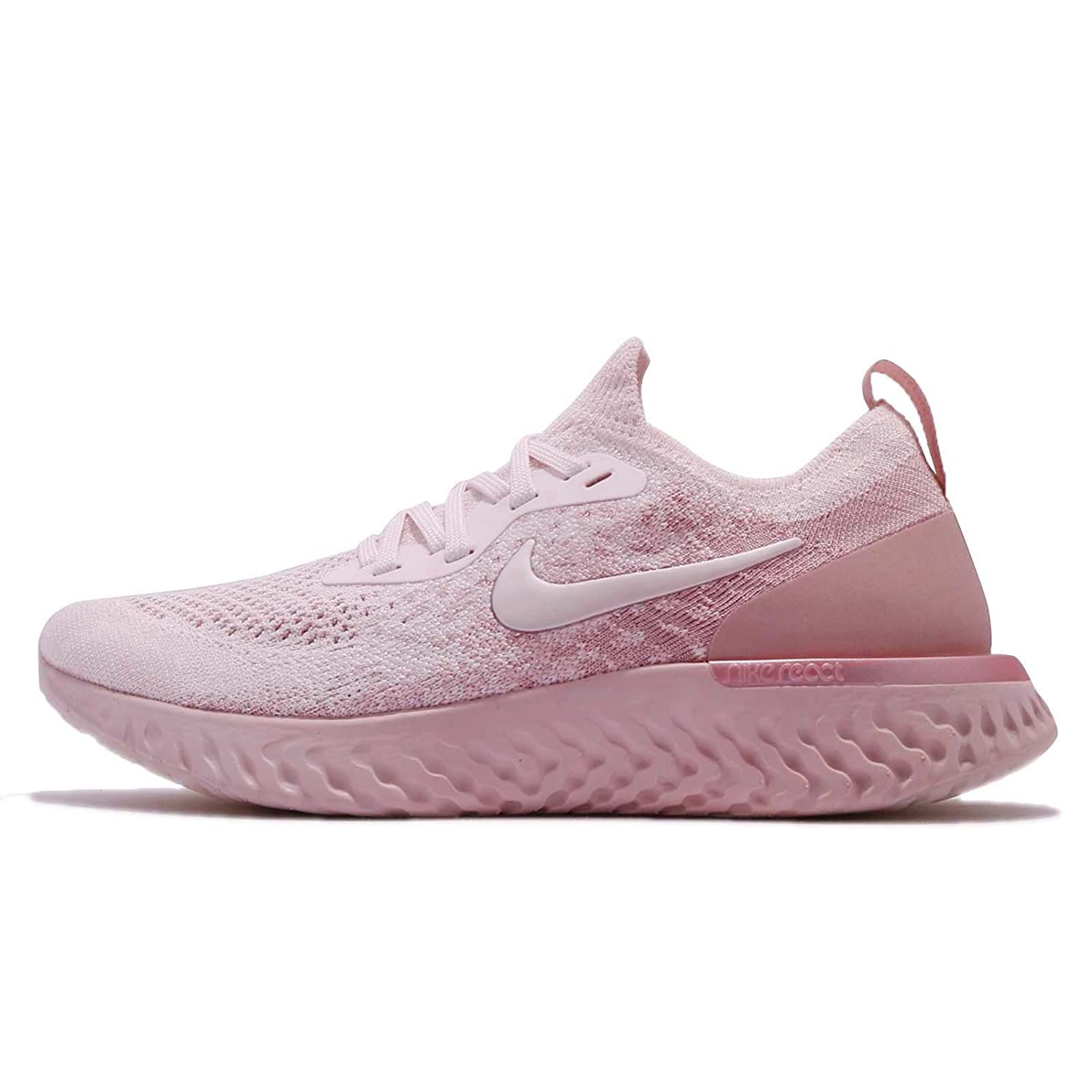 Mujeres Flyknit Nike Wmns Epic Reaccionar Flyknit Mujeres Pearl Pink  Perla b8c588