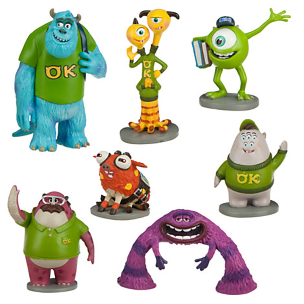 Amazon monsters university figure play set toys games voltagebd Choice Image