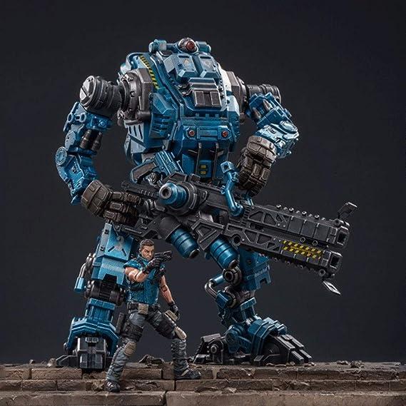 CQ Figura de acción Militar del ejército, Acero Ataque Bone Hombre Mecha Gratuito (Tactical Mech) 1/18 Escala de Figuras Colección Moderna Modelo Militar Toys: Amazon.es: Juguetes y juegos