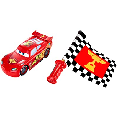Disney Pixar Cars Flag Finish Lightning McQueen: Toys & Games