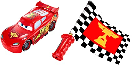 Disney Pixar Cars Flag Finish Lightning McQueen Toy Car