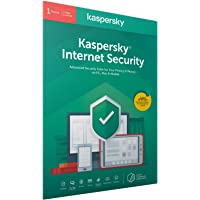 Kaspersky Internet Security 2020 | 1 Device | 1 Year | Antivirus and Secure VPN Included | PC/Mac/Android | Activation…