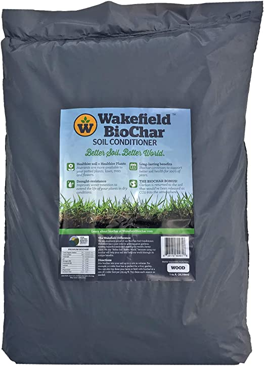 Amazon.com: Wakefield biochar Acondicionador – 1 CU/FT ...