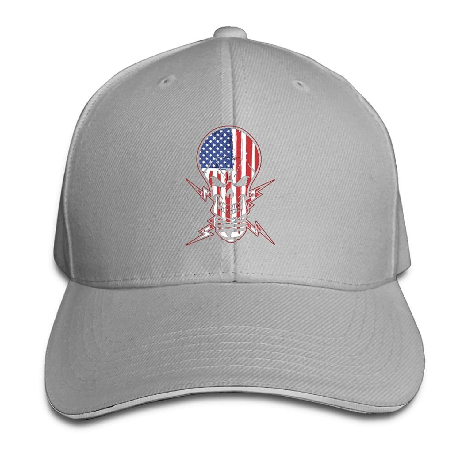 Amazon.com   Michael Rong Unisex Adjustable Sandwich Hats Solid Colors  Baseball Cap Snapback Hat for American Made Ideas   Sports   Outdoors aa305203843