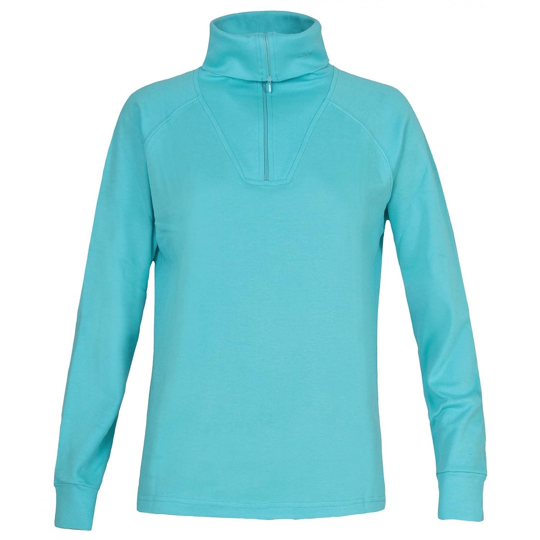 Trespass Childrens Girls Dollo Long Sleeve Ski Polo Sweatshirt