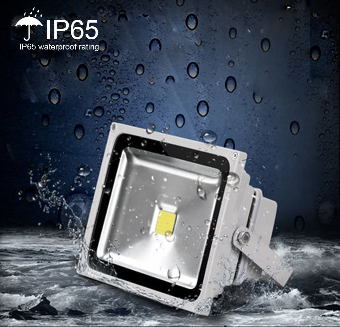 Ledmo 50w Led Flood Lights Waterproof Ip65 For Outdoor Daylight