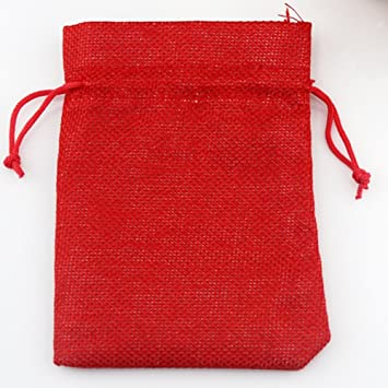 Hemp Drawstring Jewelry Gift Pouches Jute Bag Incense Storage Linen Bag Wedding Favor Gift Pouch Pack