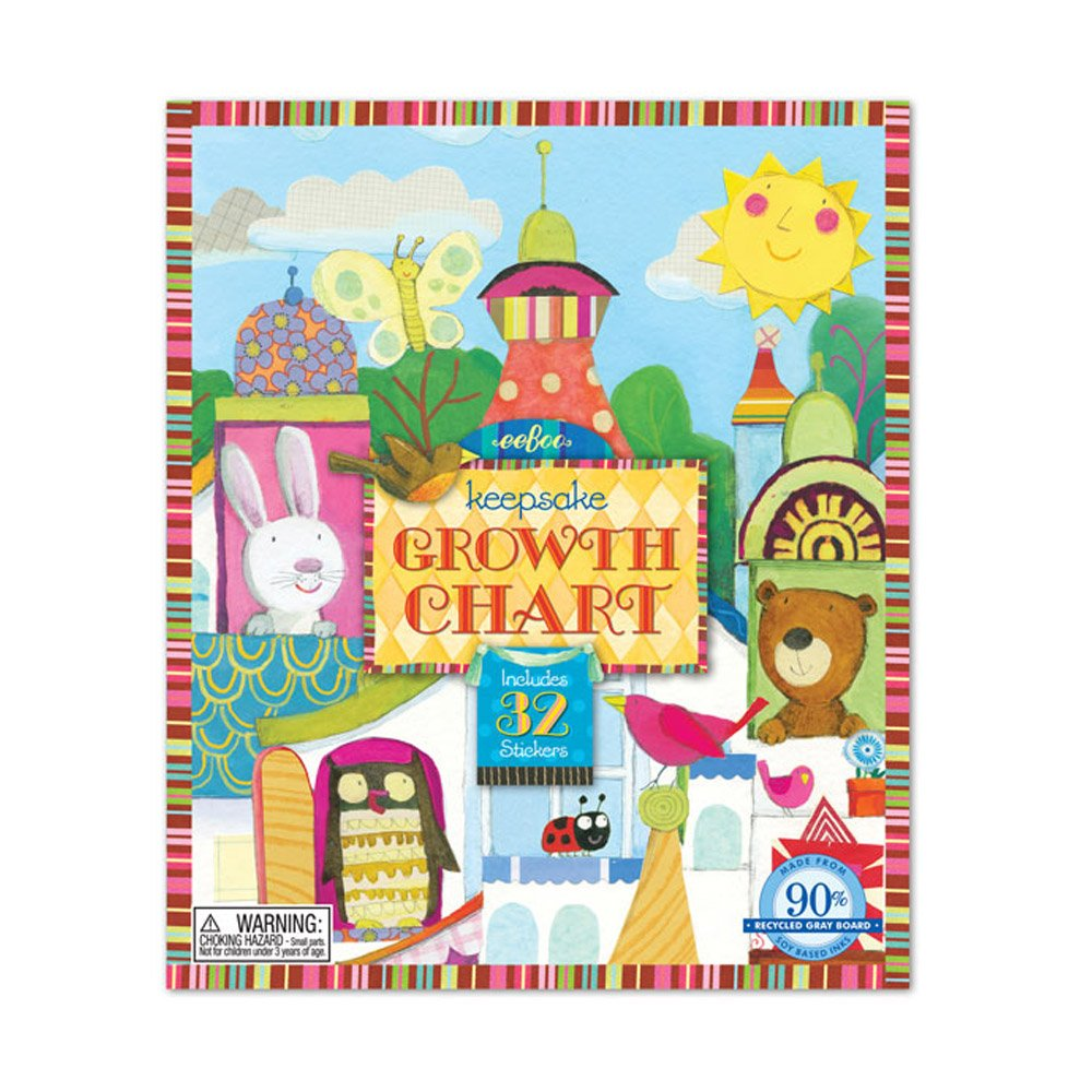 Animal tower growth chart 9781594616594 amazon books nvjuhfo Image collections