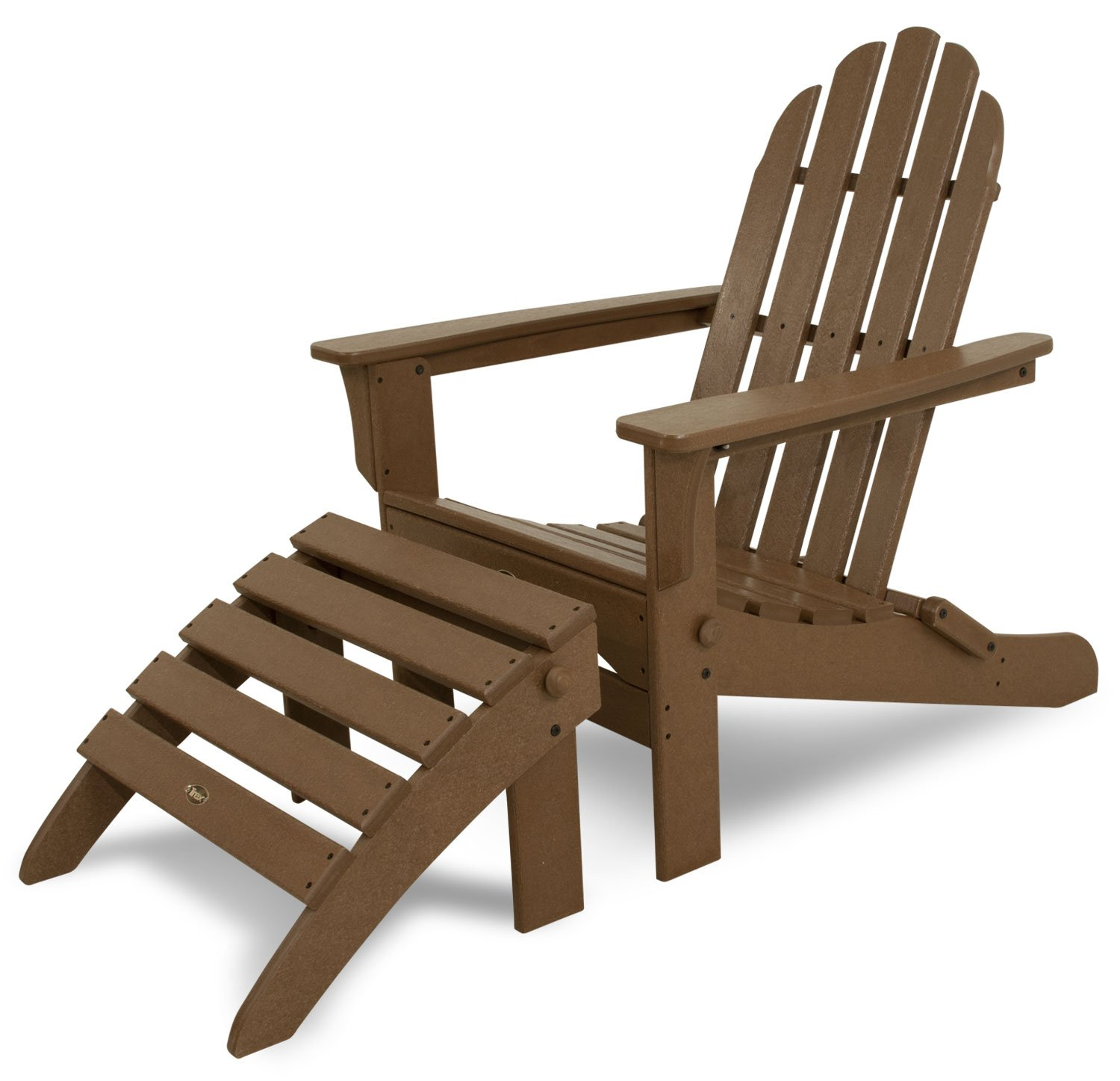 Amazon.com : Trex Outdoor Furniture TXS116 1 TH Cape Cod 2 Piece Folding  Adirondack Seating Set, Tree House : Adirondack Chairs : Garden U0026 Outdoor