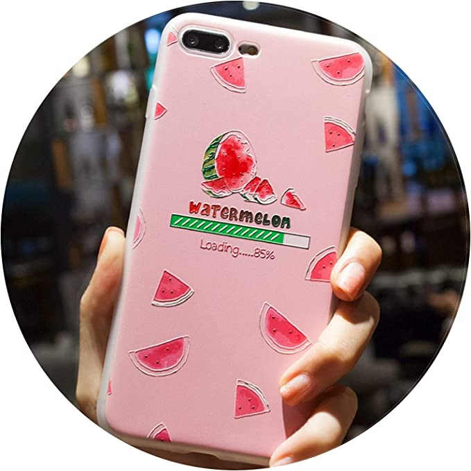 Coque iPhone 5 5S Se 8 6 6S 7 Plus Coques Summer Fruit Citron ...