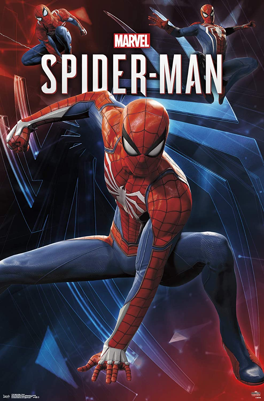 Trends International Marvel Comics 22.375 x 34 Poses Wall Poster Multi Spider-Man