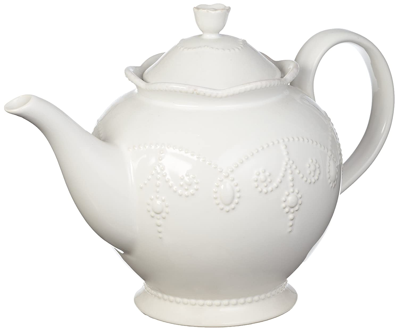 Lenox French Perle Teapot, White 825743