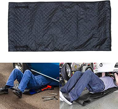 Black Zero Ground Auto Mechanics Repair Creepers Mat Rolling Pad Under The Vehicle for Cars Working and Household OHMU Automotive Car Creeper