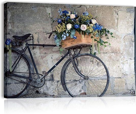 Quadri L&C Italia, bici vintage, cuadro moderno sobre lienzo, 70 x ...