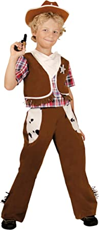 César - Disfraz de vaquero para niño, talla 5-7 años (F183-002 ...