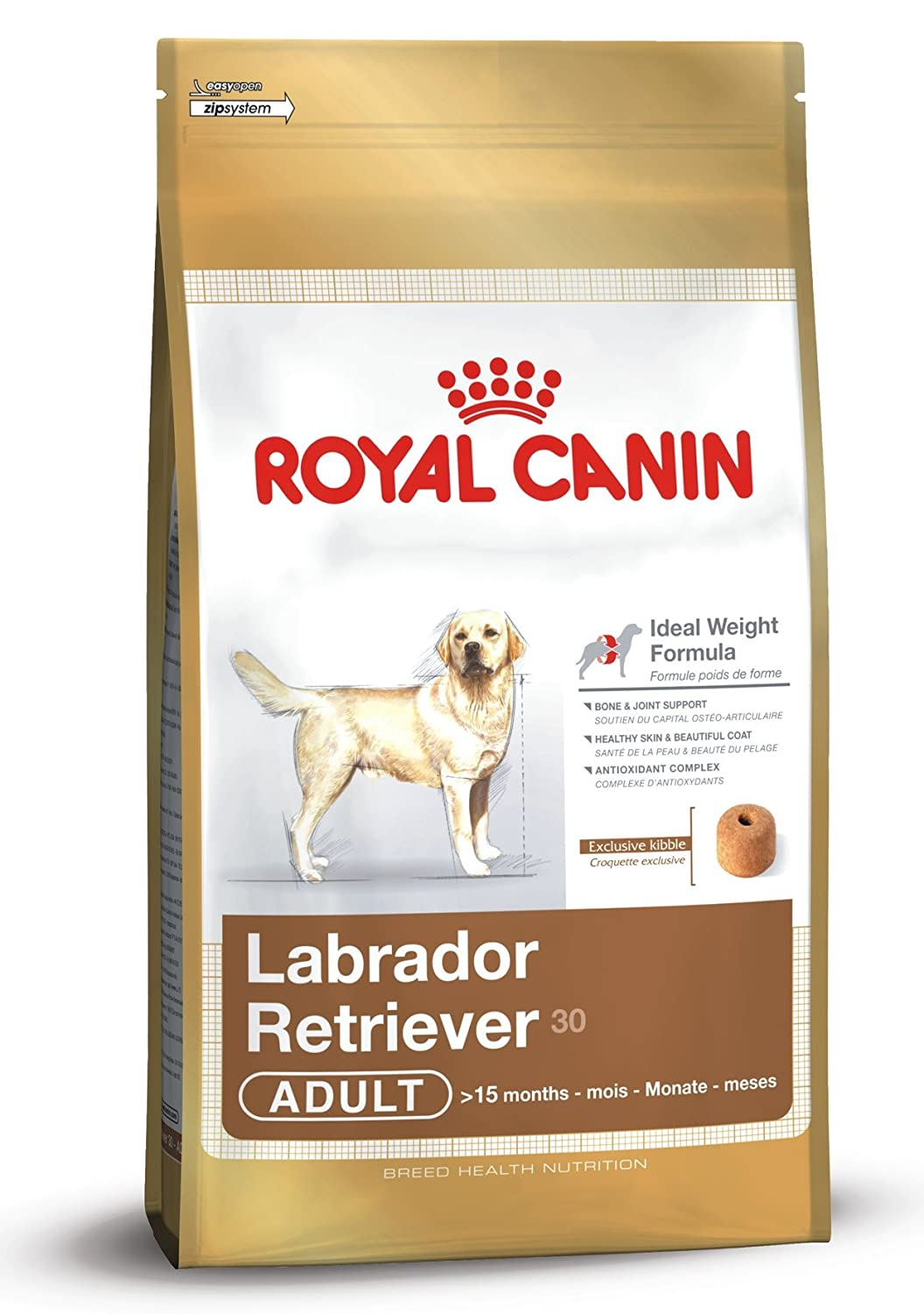 12kg Royal Canin Dog Food Adult Labrador & Retriever, Dry Food 12kg Bag