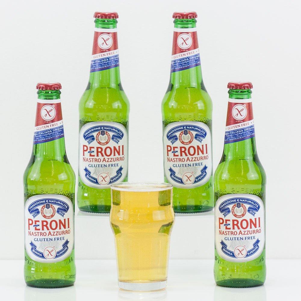 Natures Hampers Cesta de Regalo Cerveza Peroni sin Gluten y ...
