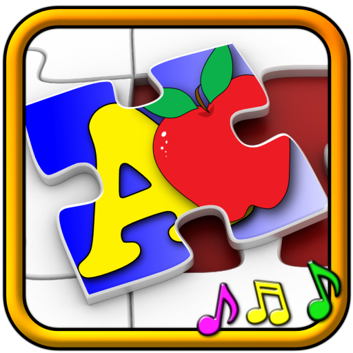 Kids ABC and Counting Jigsaw Puzzle game - learn the alphabet numeracy shapes and numbers suitable for toddler and young pre school aged children -