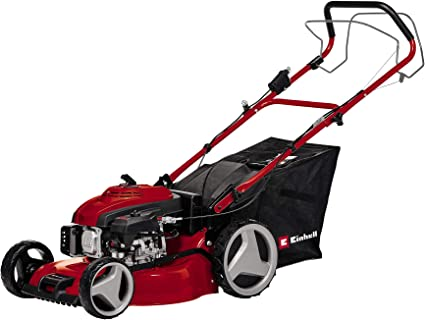 Einhell GC-PM 46/2 S HW-E Self Propelled Petrol Mower - Best Petrol Lawn Mower for Large Gardens