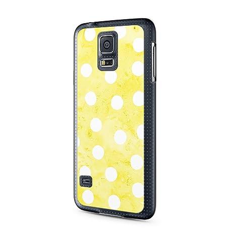 Amarillo diseño puntos blancos Vintage Samsung Galaxy ...