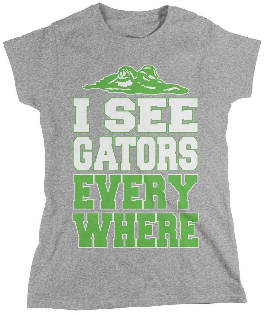 I See Gators Everywhere T Shirt 5121