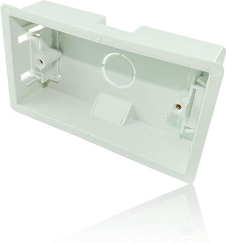 CDL Micro - Caja de Montaje Empotrado para Pared (35 mm), Color ...