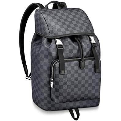 7bc5f8d4ffab Amazon.com  Louis Vuitton Damier Graphite Canvas Zack Backpack Handbag  Article  N40005  Shoes