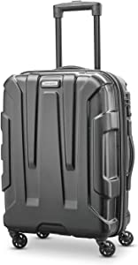 Samsonite Centric Hardside Expandable Luggage with Spinner Wheels, Black