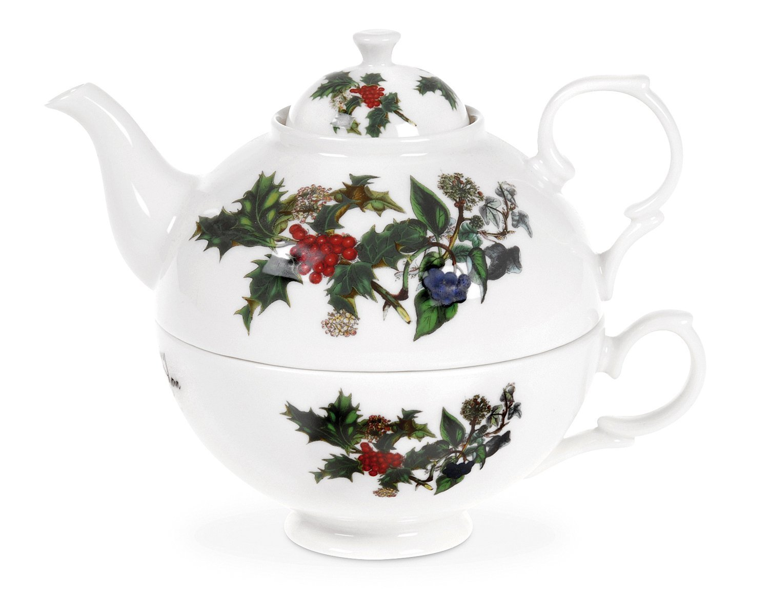 Portmeirion Holly And Ivy Tea for One 0.35l