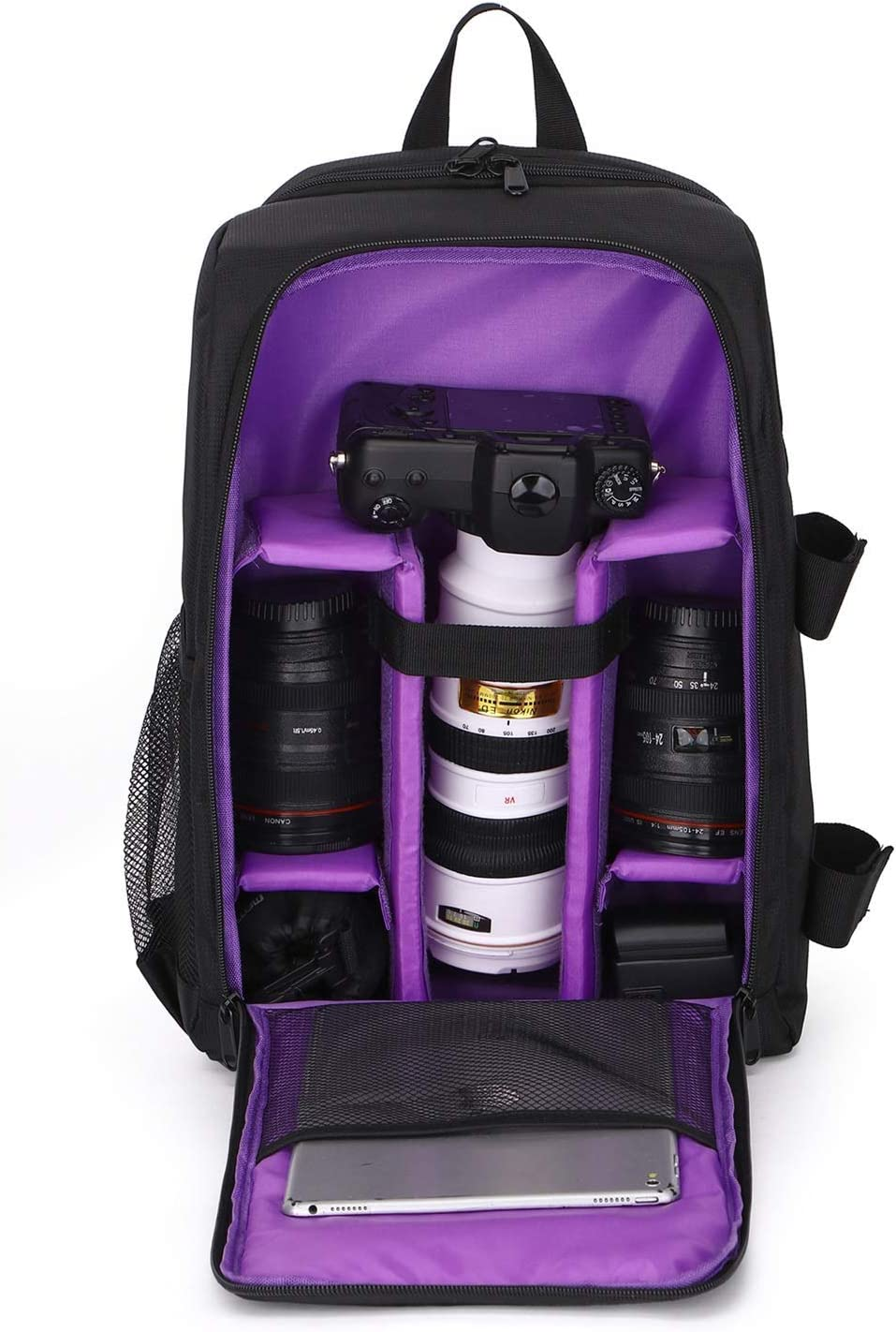 Outdoor Product//Fashion Bag Camera Bag Waterproof SLR Camera Bag Shoulder Outdoor Photography Bag Professional Waterproof Wearable Laptop Bag Lens and Accessories