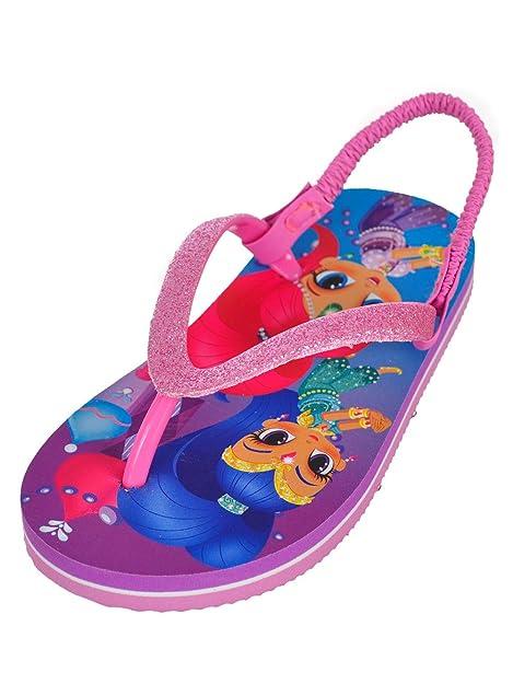 677da5a1e45981 Shimmer and Shine Girls  Sandals - Pink Multi