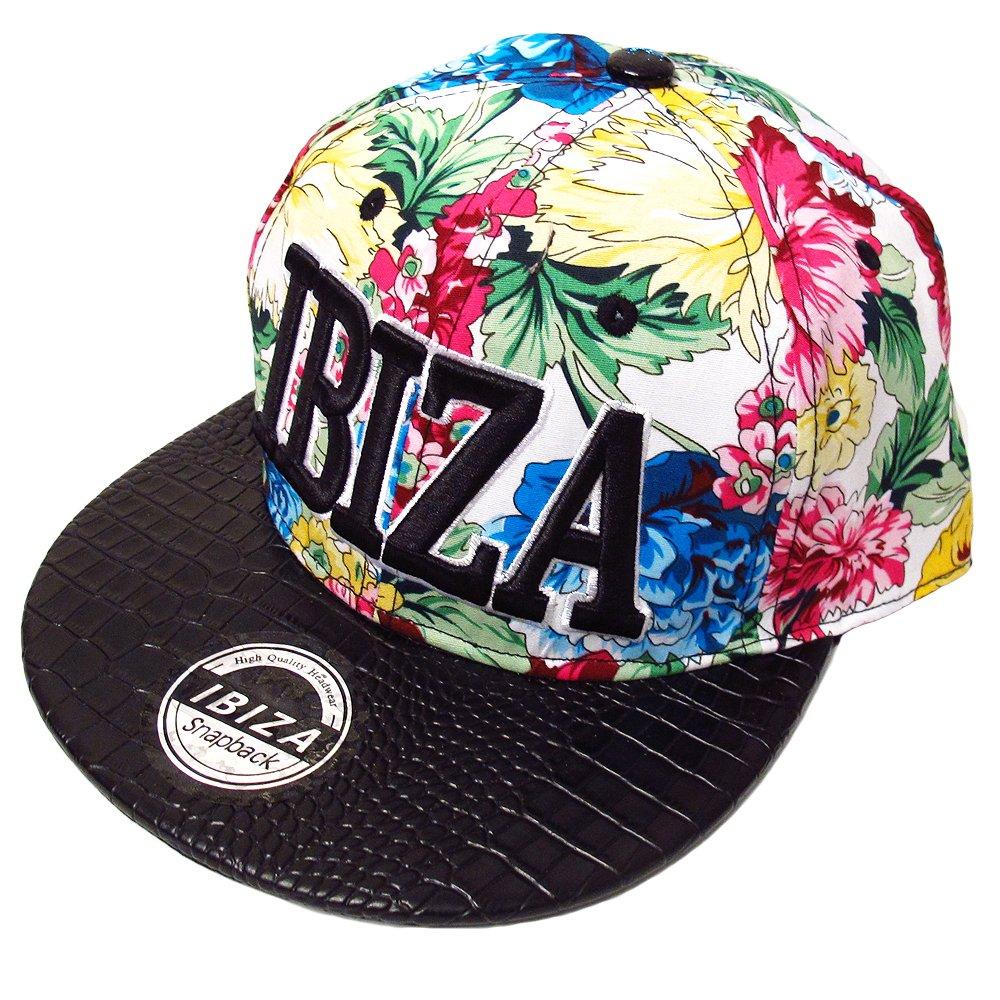 Love Ibiza: Flores Tropicales Gorra Snapback - Multicolor, Talla ...
