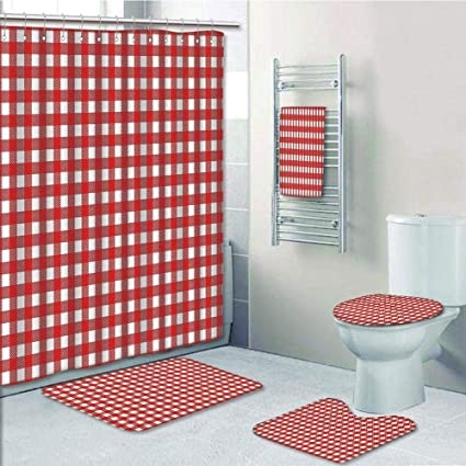 Amazon.com: Bathroom 5 Piece Set Shower Curtain 3D Print Customized on acrylic bathroom designs, 2 piece bathroom designs, modern bathroom designs, square bathroom designs, small bathroom designs, bathroom cabinet designs, bathroom mirror designs, 5 piece bath, large bathroom designs, standard bathroom designs, elegant bathroom designs, patchwork bathroom designs, vintage bathroom designs, 3 piece bathroom designs, bathroom floor plans and designs, bedroom designs, white bathroom designs, 5 piece art, 5 piece shower surround, embroidery bathroom designs,