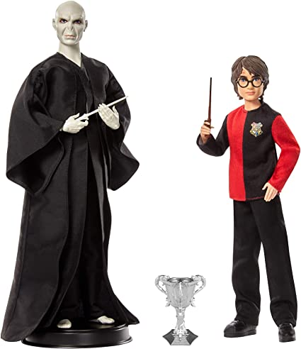 Harry Potter and Lord Voldemort Doll Set