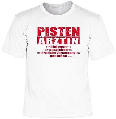 Ski Shirt   Top Sprüche T Shirt Apres Ski Party : Pisten Notärztin     Goodman Design    Ski Fun T Shirt: Amazon.de: Bekleidung