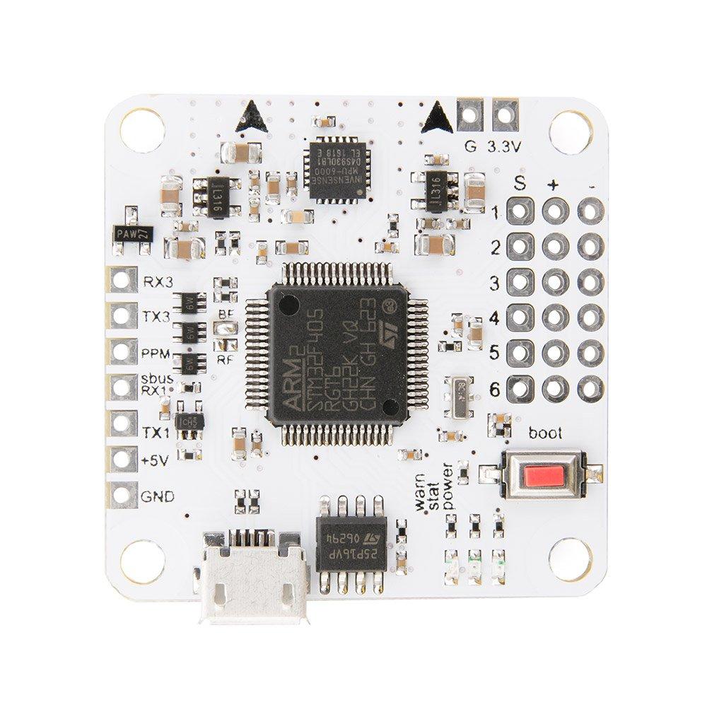 GetFPV Affiliate F4 アドバンスフライトコントローラー - (MPU6000, STM32F405)   B07FN65V2C