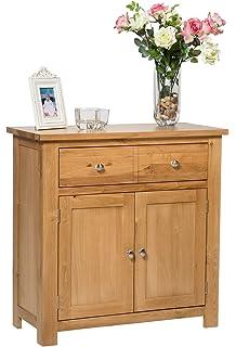 waverly oak 2 door 1 drawer small sideboard in light oak compact storage cabinet solid wooden camberley oak 2 door