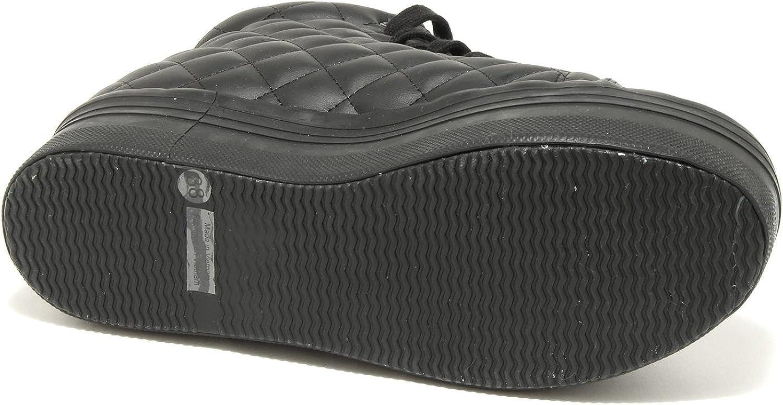Jeffrey Campbell 7656G Sneaker Donna Nera HOMG Zeppa Scarpa Shoes Women Nero
