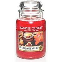 Yankee Candle vela en tarro grande, Recuerdos navideños