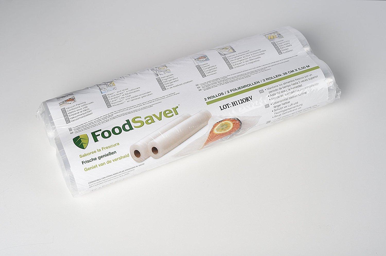 Foodsaver - Envasadora al vacío y pack de dos rollos para ...