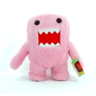 Domo-kun 7 Inch Tall Pink Plush by Domo: Toys & Games