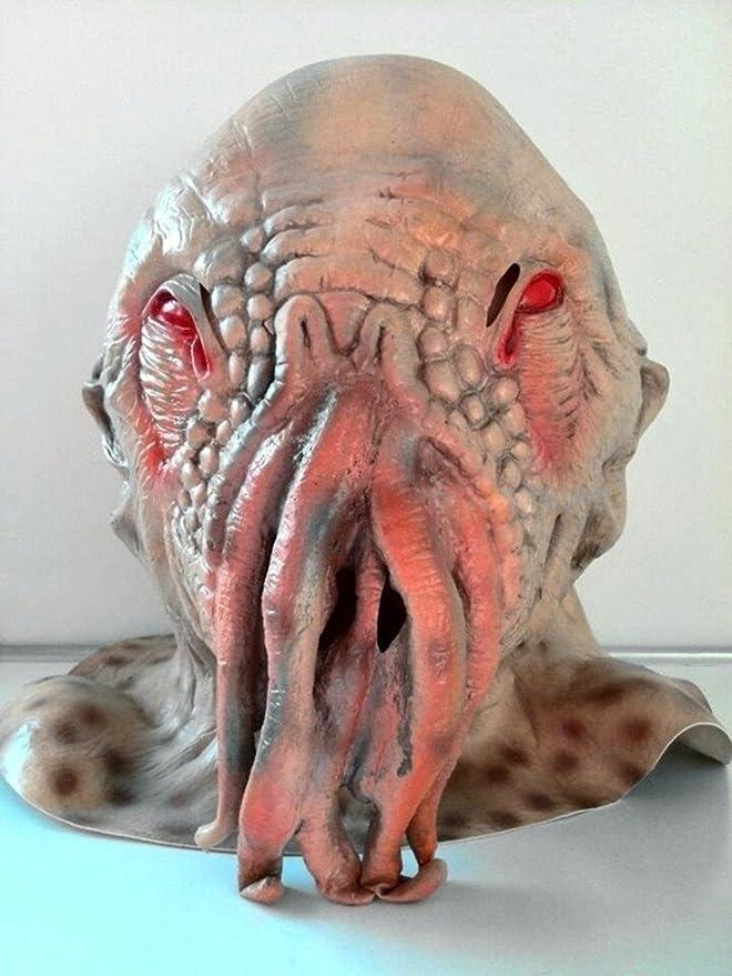 Spod® espeluznante látex ood Pulpo Doctor Who máscara disfraz de ...