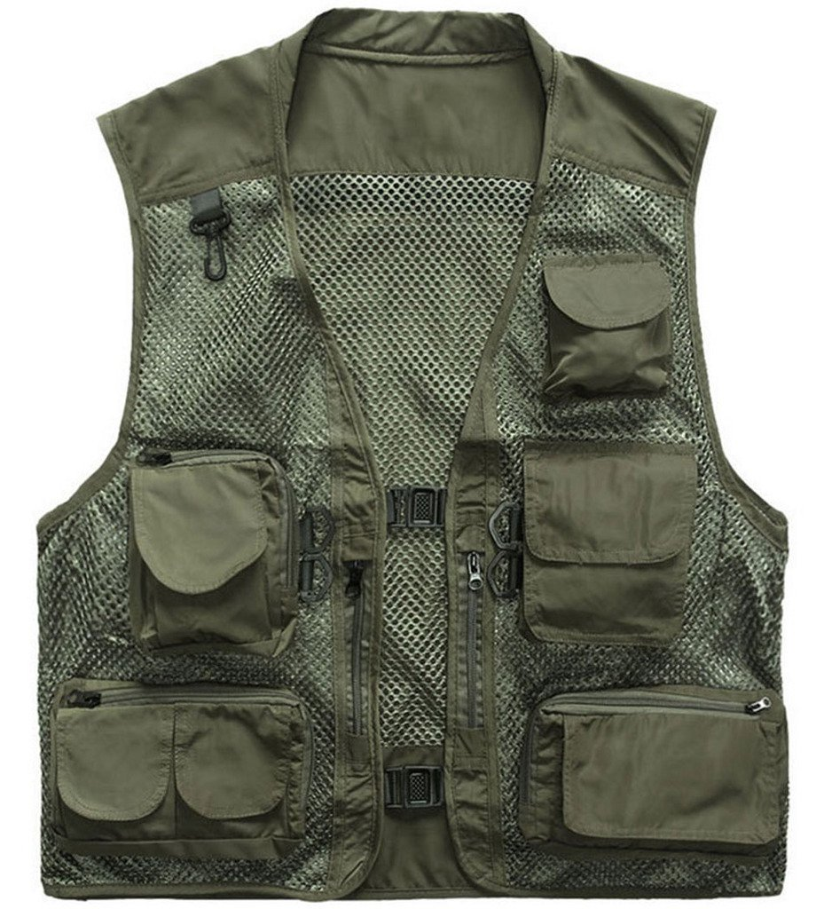 Best rated in fishing jackets vests helpful customer for Fishing vest amazon