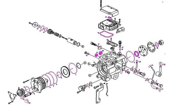 Amazon Com Bosch 1 467 045 046 1467045046 Parts Set Automotive